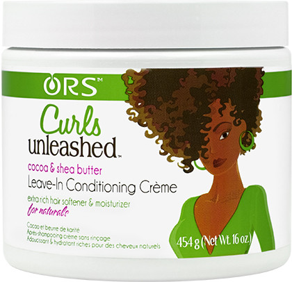 Organic Root Stimulator Curls Unleashed Cocoa & Shea Butter Leave-In Conditioning Creme (16 oz.)