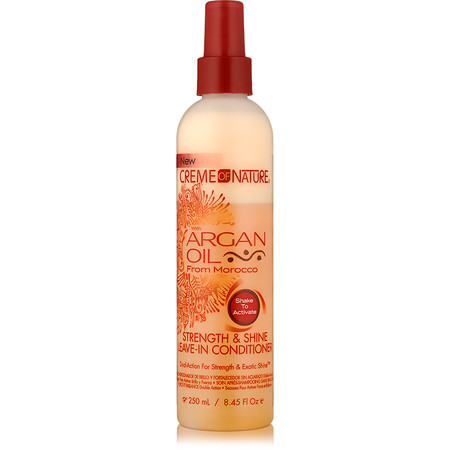 Review: Creme of Nature Argan Oil Strength & Shine Leave-in Conditioner (8.45 oz.)