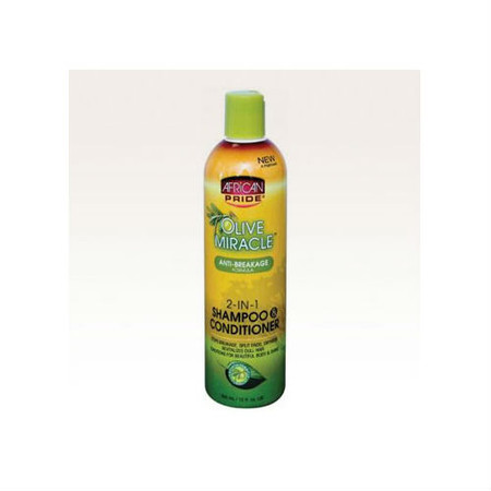 Review: African Pride Olive Miracle 2-in-1 Shampoo & Conditioner (12 oz.)