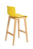 Yellow Mela Bar Stool