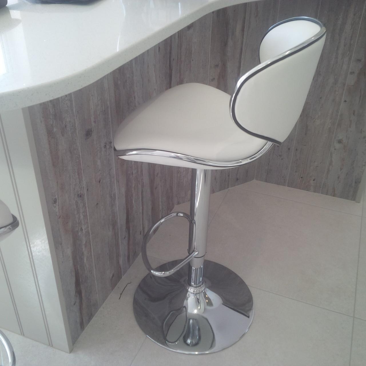 Carcaso kitchen stool white breakfast bar stools for White breakfast bar stools
