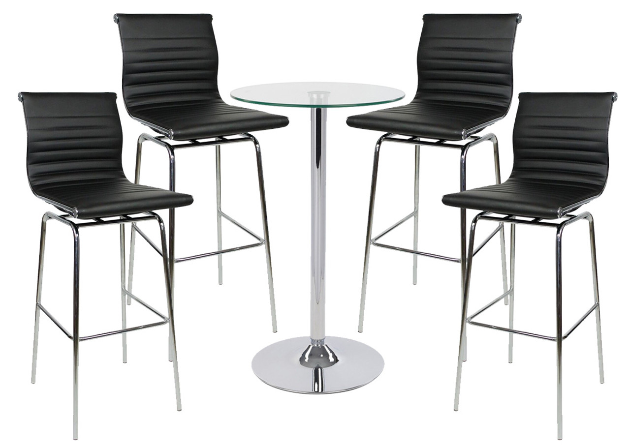Rovigo Fixed Height Bar Stool And Como Table Package