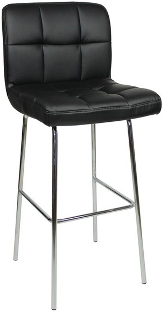 Allegro Fixed Height Bar Stools Black Kitchen Bar Stools