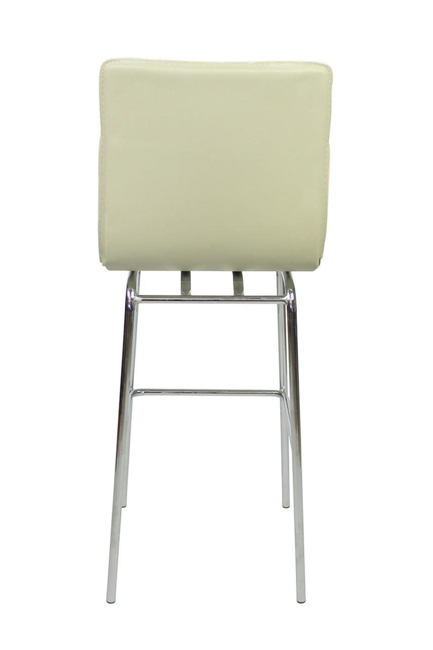 Giola Fixed Height Bar Stools Cream