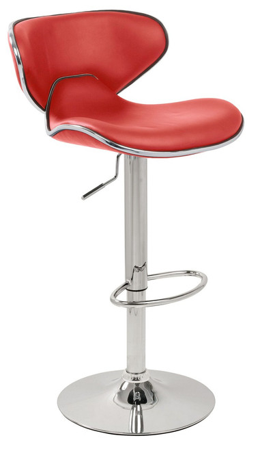 Carcaso Bar Stool Red