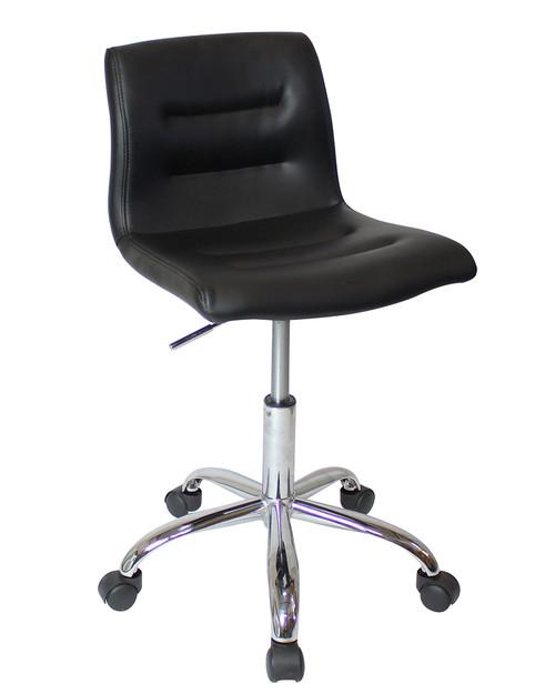 Merveilleux ... Augusta Chair With Wheels Black