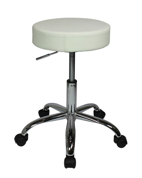 Semplice Chair With Wheels White
