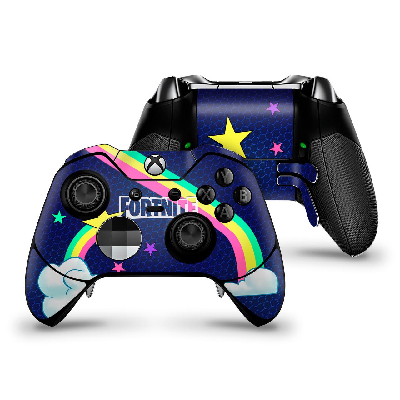 Rainbow Rider Xbox One Elite Controller Skin Xbox One Skins Fortnite