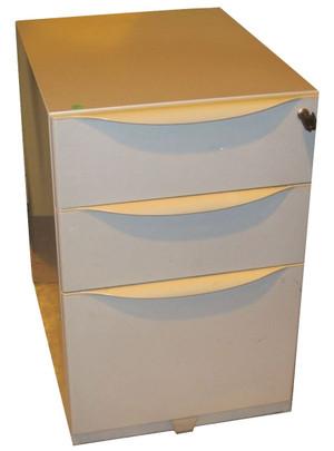 3 Drawer Metal Pedestal (CEA-324-2D0)