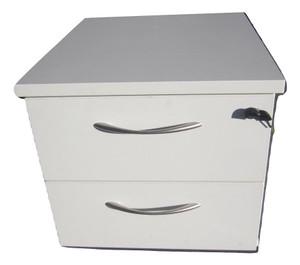 White Under Desk Pedestal (D55-136-334)