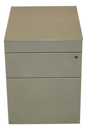 Metal Three Drawer Pedestal (FB4-9EF-534)