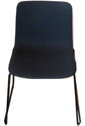 Fredericia Pato Stackable Black Chair (38C-670-370)