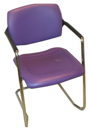 OCEE Design Purple Stackable Chair (56F-22C-EC3)