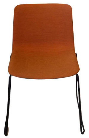 Fredericia Pato Stackable Orange Chair (DE2-A43-C21)