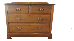 Antique Effect Set Of Drawers (5BB-55E-066)