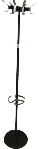 Du-al Black Metal Coat Stand (1A5-230-584)