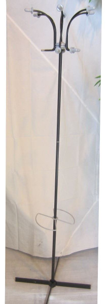 Grey and Black Coat Stand (E23-AAA-8FC)
