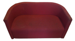Boss Designs Red Fabric Sofa (7AC-CF9-53C)
