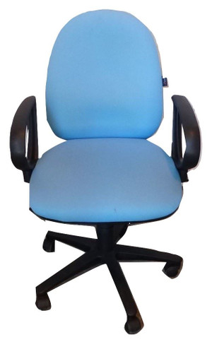 Summit Light Blue Operator Chair (709-10E-B2C)