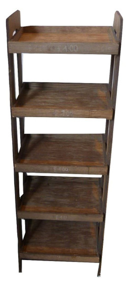 Wooden Display Shelves (466-DC7-6F2)