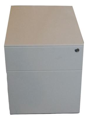 Herman Miller White Metal Pedestal (90C-83C-7E0)
