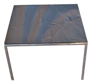 Small Black Glass Coffee Table (998-715-494)