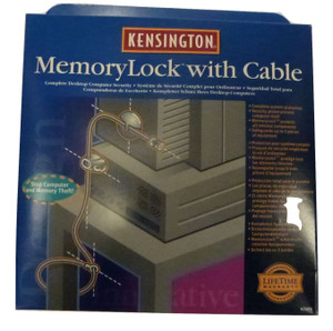 Kensington Memory Lock With Cable (95A-498-0C4)