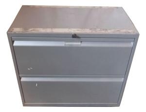 Generic 2 Drawer Filing Cabinet (442-C6B-F3E)