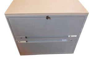 Generic Filing Cabinet With Desk (808-B16-D50)