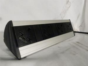 Desk Mounted 4 way Extension lead 3 Pin Power (E05-DA1-011)