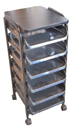 Small Black Storage Drawers (0A7-95A-9BC)