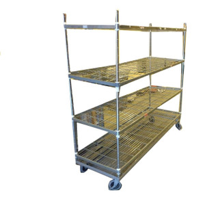 Large Metal Wire Trolley (EF3-37F-0C0)