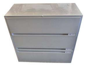 M Storage Solutions Metal 3 Drawer Side Filer (E01-246-83D)