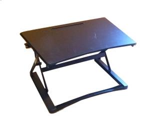 Black Height Adjustable Desk Solution (E61-3E2-F39)
