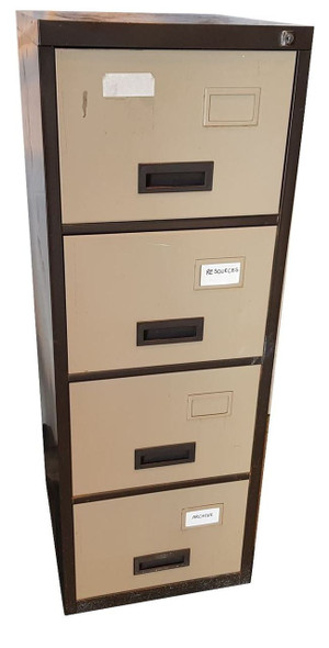 Generic 4 Drawer Filing Cabinet (34B-221-A49)