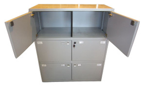 Bisley Grey Locker (B5E-0CA-B61)