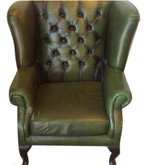 Green Sherlock Style Armchair (ABE-F53-76C)