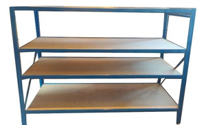 4 Shelf Blue Racking (34A-F59-523)