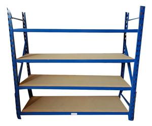 Generic 4 Shelf Blue Racking (21F-C73-EFA)