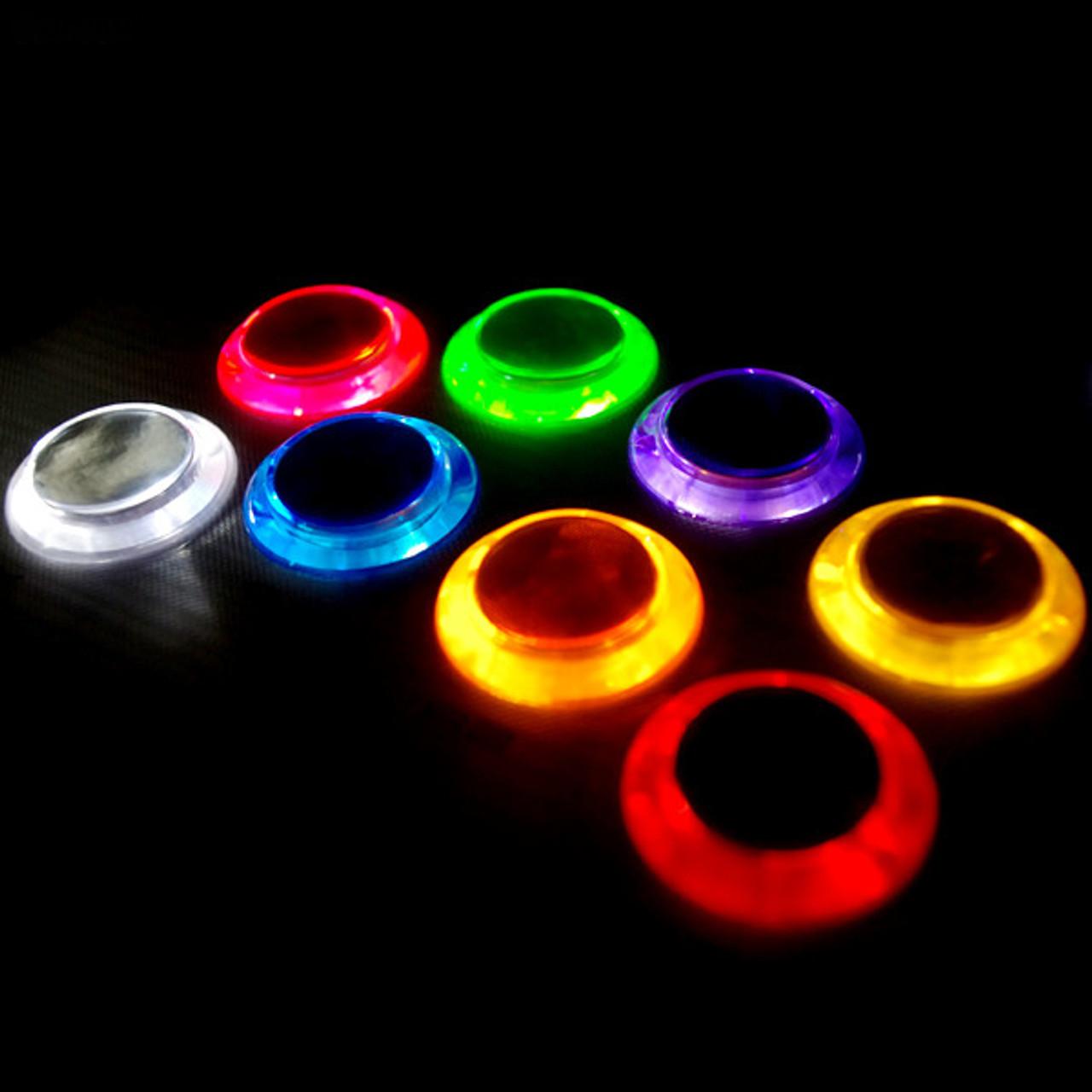 Seimitsu Psl 30n 5w2 5v Illuminated Screw In Arcade Button