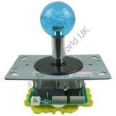Illuminated Arcade Joystick With 35mm Bubble Top Handle