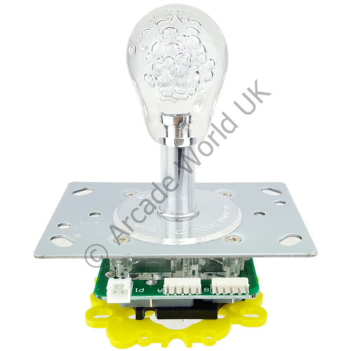 Colour Changing Illuminated Joystick With Crystal Bat Top Handle