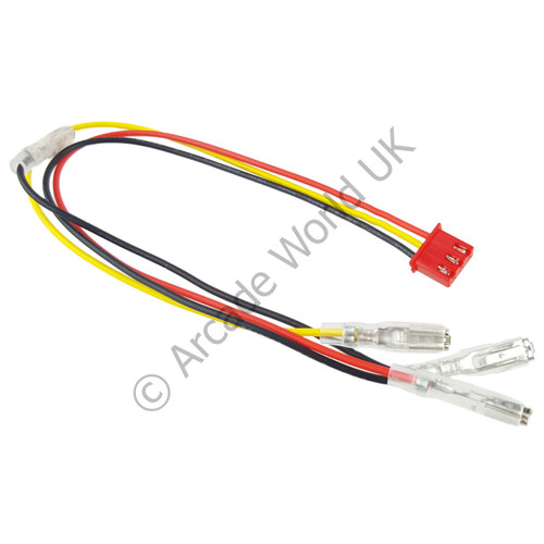 Replacement 3 Wire LED Harness For Zero Delay USB Board