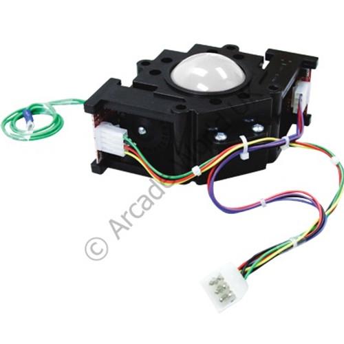 "SuzoHapp 2-1/4"" Trackball With Standard AMOA Wire Harness"