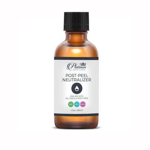 Post Peel Neutralizer. Neutralize alpha hydroxy acids in one step.