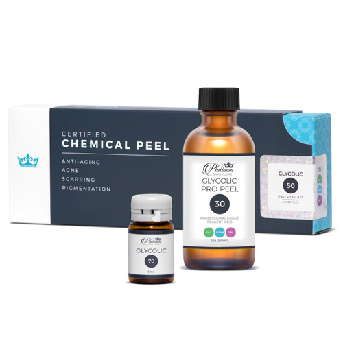 Glycolic peels  30 - 50 - 70
