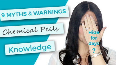 9 Myths and Warnings about applying chemical peels