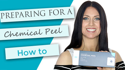 Preparing your skin for a chemical peel