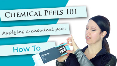 Chemical Peels 101 - How to apply a chemical peel at home