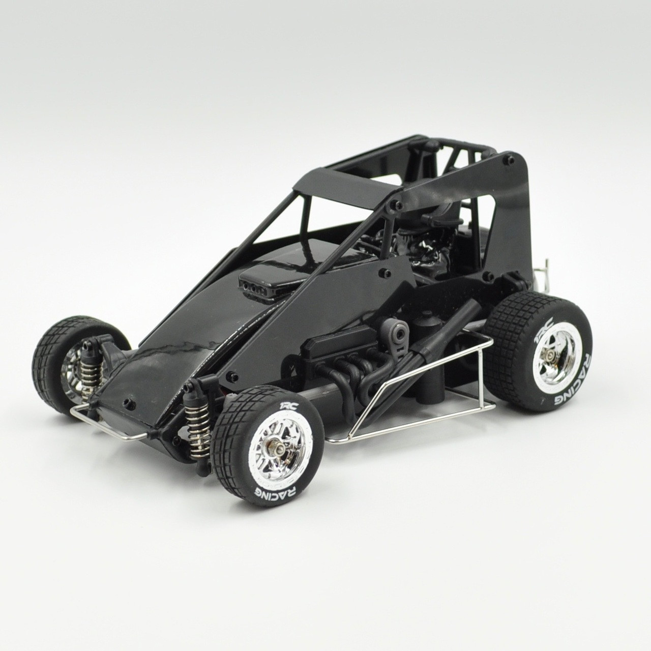 build your own radio controlled car with 1 18 Midget Black Rtr on The Ultimate Boys Toy The Giant Radio Controlled Tank Thats SO Powerful Pull Car further Bmw E46 Lighter Ebay together with Rc Adventures Cheap Tire Chains Tutorial How To Diy Snow Ice Mud Bogging additionally Rc Nitro Electric Petrol Cars On Off Road Versions besides 1 18 Midget Black Rtr.